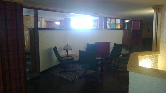 Hotel Quarto Pirovano: Sala lettura