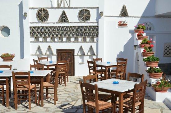 Porto Raphael Residences & Suites: Het terras