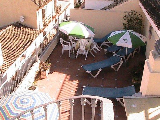 Hostal Italia: Rooftop sun terrace