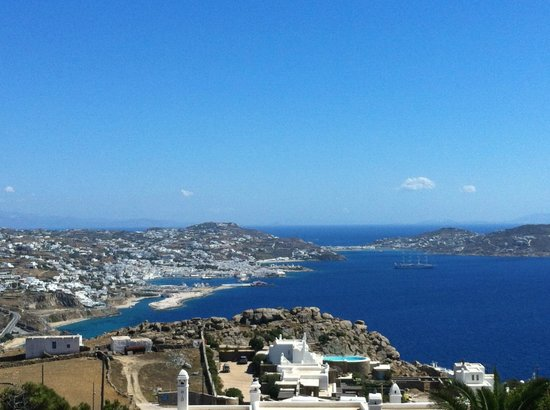 Agnandi Homes and Studios: la vue sur Mykonos