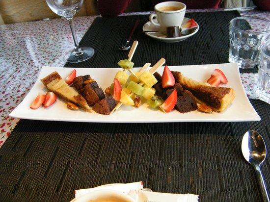 Restaurant de la Piscine: Migniardises