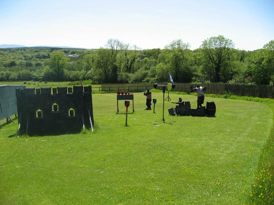 Dragon Archery Centre: Part of the shooting course.