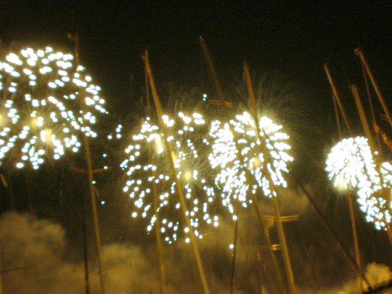 i figli delle stelle : Fête du Redentore, feu d'artifice