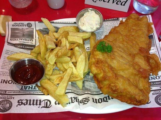 ผลการค้นหารูปภาพสำหรับ fish & chips london