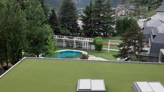 Andorra Park Hotel: Las vistas de la habitacion