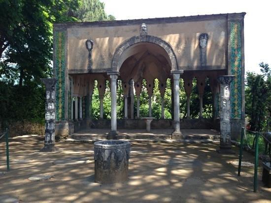 Garden 39 S Trees Picture Of Villa Cimbrone Gardens