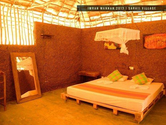 Saraii Village: Inside room