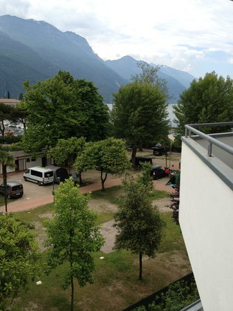 Hotel Oasi Wellness & Spa: view from balcony