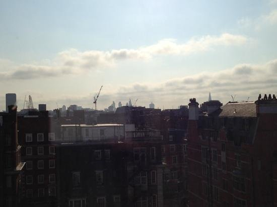Millennium Hotel London Mayfair: panoramic view from the Club