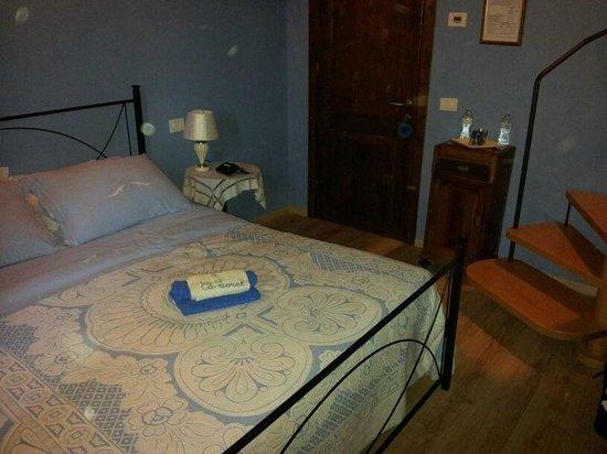 Agriturismo Ca' Sorci: Una stanza veramente carina ed accogliente