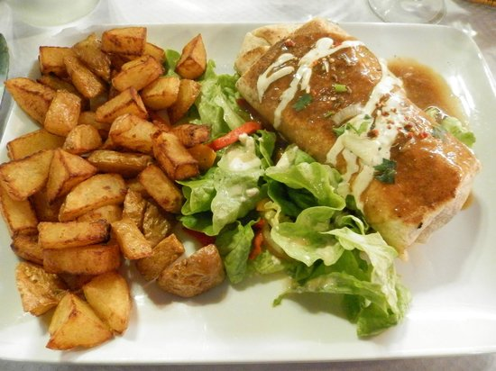 La Brique Rose : Tortillas au canard