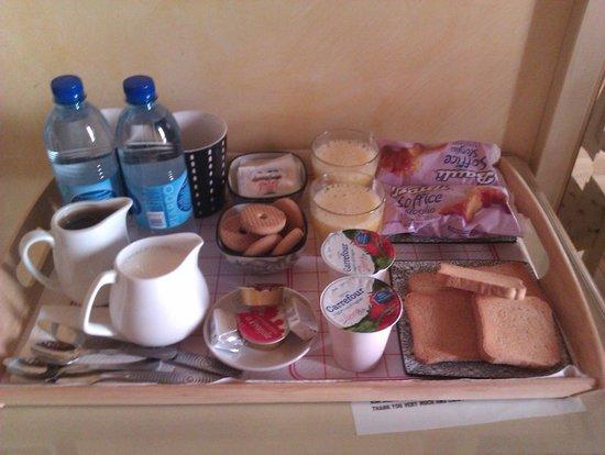 Rhona's Rooms B&B: Desayuno