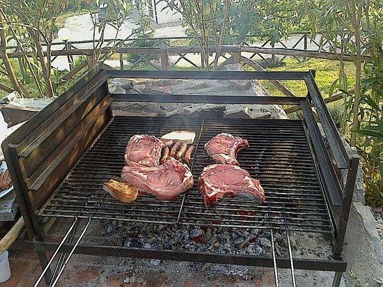 La Meria Az. Agricola : Bistecche fiorentine spettacolari