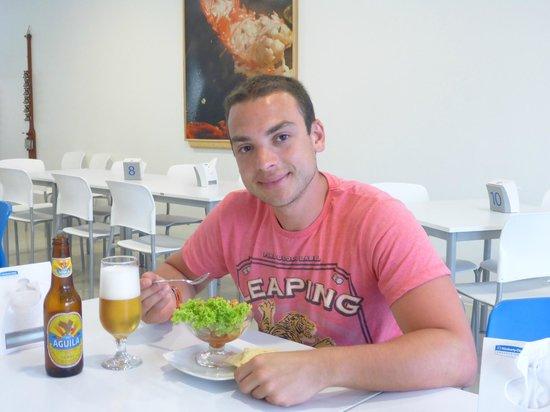 Restaurante Capitan Mandy : nada mejor que el Ceviche!!!