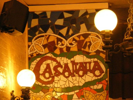 Casa Italia : Lovely mosaic in the restaurant