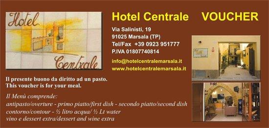 Hotel Centrale: Voucher
