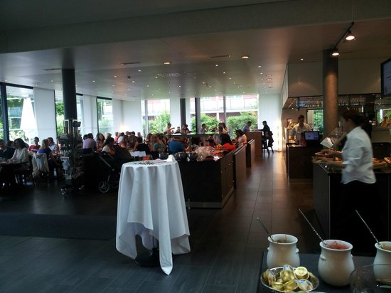 Hotel Richemont: Dining room