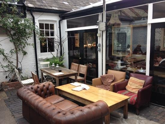The Raven: The terrace