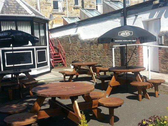 Ayr Town Lodge: Beer Garden