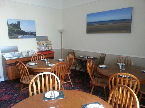Ayr Town Lodge: Dining Room