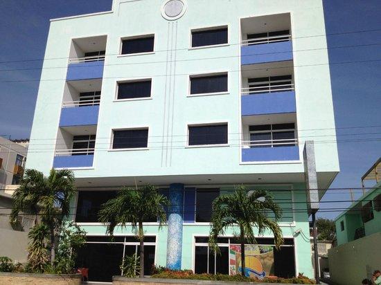Hotel Bahia Azul: Fachada del Hotel