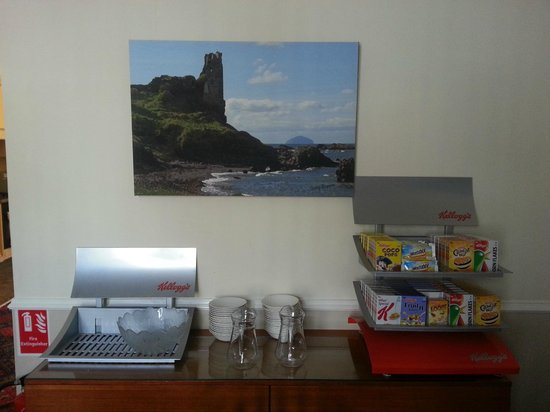 Ayr Town Lodge: Breakfast Room