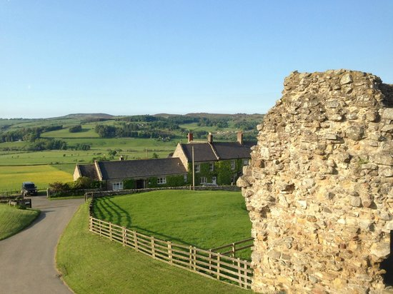 Tosson Tower Farm: View from room