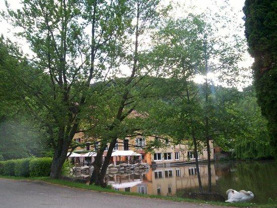 Hotel du Lac: vue sur le lac