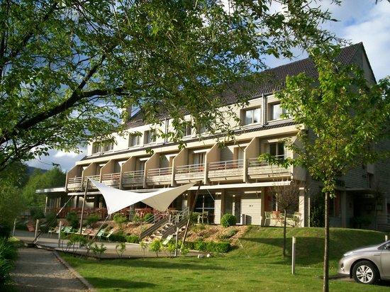 Hotel du Lac: chambres avec terrasse