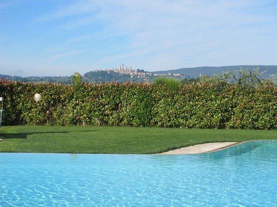 Agriturismo il Girasole: Panoramablick