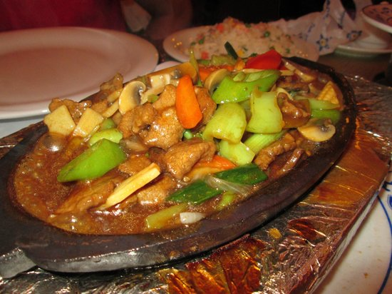China Town Restaurant: sizzling beef -wicked