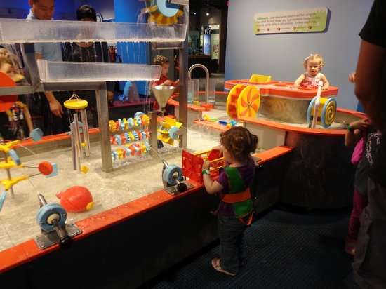 Discovery Place: The water table
