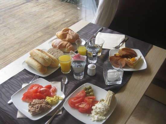 MY Kosher Hotel Canazei : From the breakfast buffet