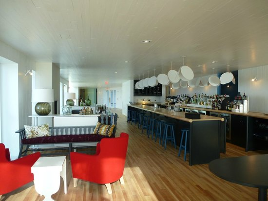 Joe Batt's Arm, Canada: Part of Bar/Lobby