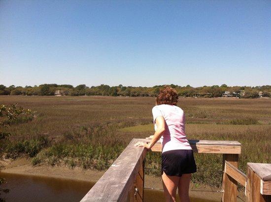 Seabrook Island Resort: Crabbing dock