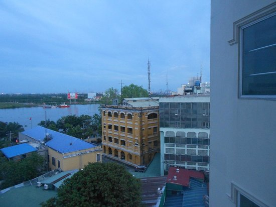 Silverland Jolie Hotel & Spa: View from room 507