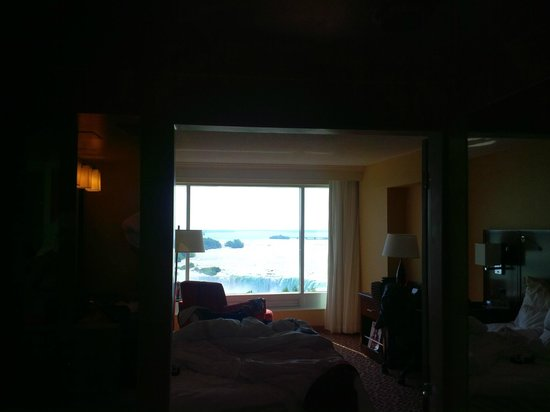 Niagara Falls Marriott Fallsview Hotel & Spa: View from our jacuzzi