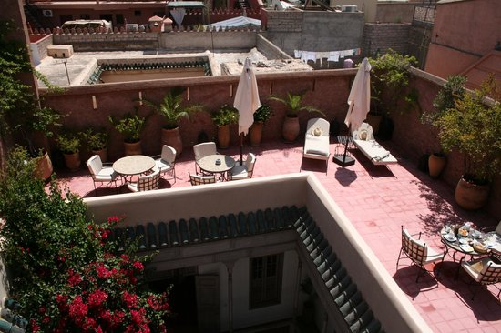 Riad Altair: Terrace
