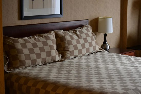 Howard Johnson Sioux City: The bed was reasonably comfortable