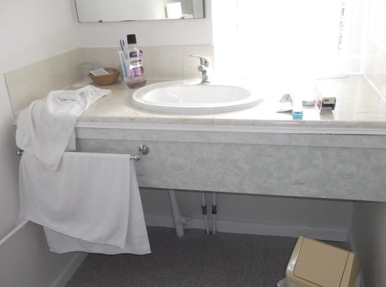 Wight Bay Hotel: Wash room