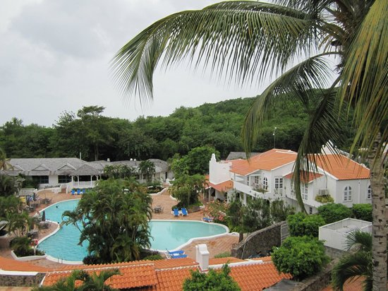 Windjammer Landing Villa Beach Resort : View from balcony