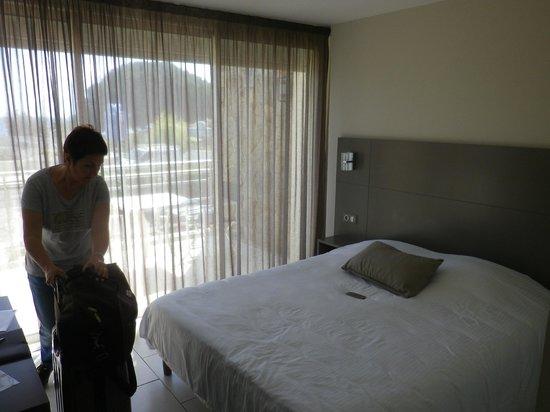 Hotel Le Grand Pavois : la chambre