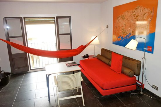 Medium image of casa camper hotel barcelona  hanging out hammock style