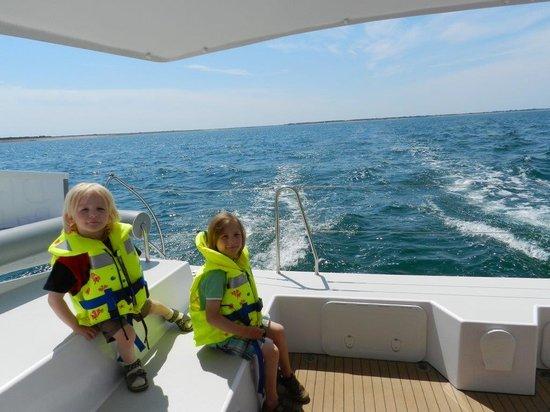 Dream'On Catamaran : At sea, in the sun, wouw!