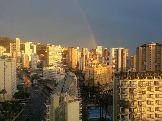 Torremar Apartments: Rainbow after the Rain