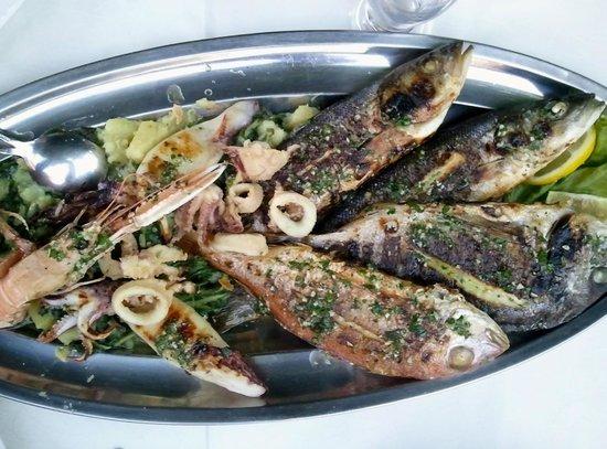 Pansion Kiko : Seafood OMG platter
