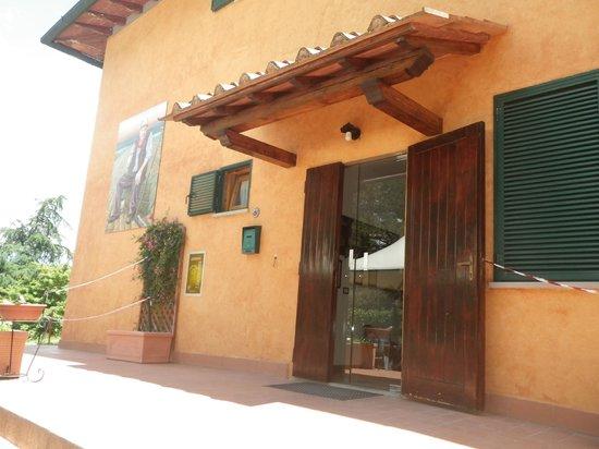 Residenza di Campagna Montelleri: Ingresso principale