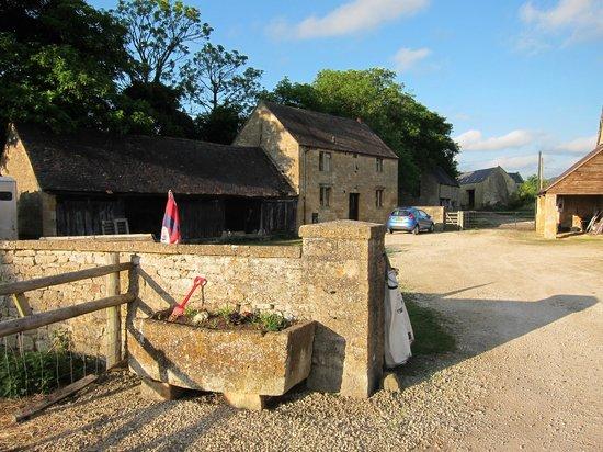Manor Farm: view of the B&B