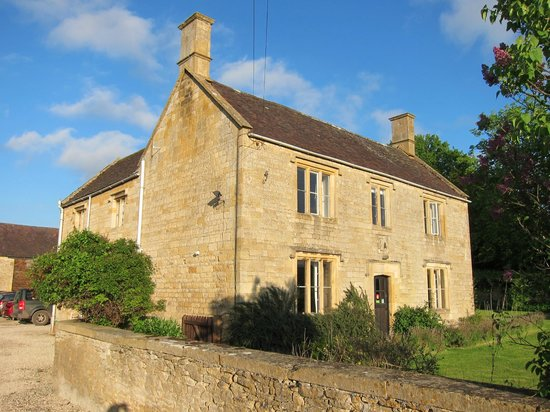 Manor Farm: the building we stayed