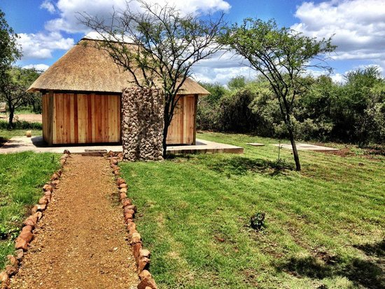 Royal Jozini Accommodation: Browns Tented Camp Camp Ablutions